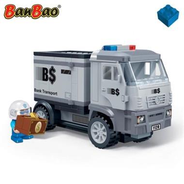 Grote foto banbao geldtransportwagen 7016 kinderen en baby duplo en lego