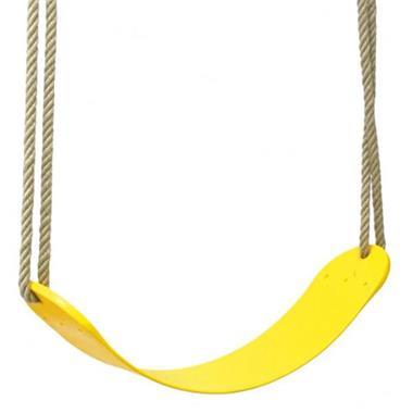 Grote foto swing king schommelzitje flex geel kinderen en baby los speelgoed