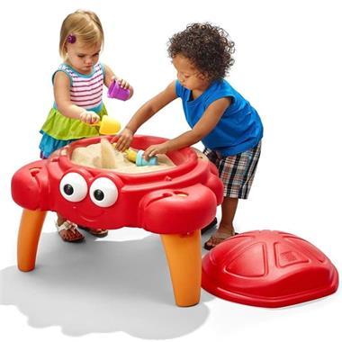Grote foto step2 crabbie zandtafel 866100 kinderen en baby los speelgoed