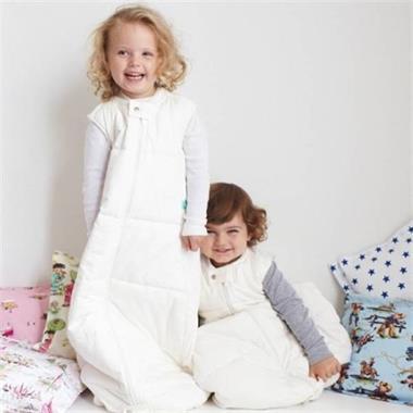 Grote foto organic cotton quilted slaapzak natural stars 2.5 tog kinderen en baby overige