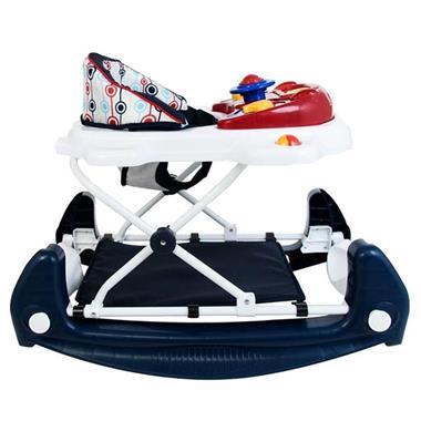 Grote foto loopstoeltje met schommelfunctie walker retro red kinderen en baby overige babyartikelen