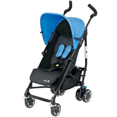 Grote foto safety 1st buggy compa city zwart en blauw 1260325000 kinderen en baby kinderwagens