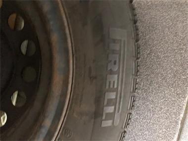 Grote foto 4 winterbanden met velgen in goede staat auto onderdelen banden en velgen