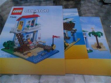 Grote foto lego boekje 7346 kinderen en baby duplo en lego