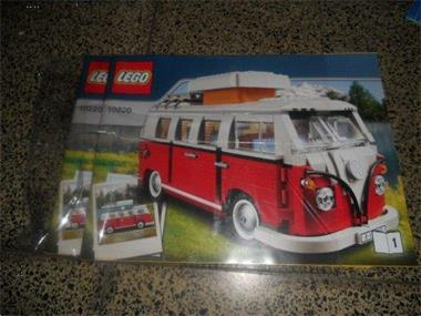 Grote foto lego instructie boekje 10220 kinderen en baby duplo en lego