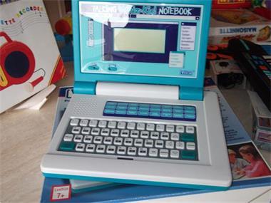 Grote foto kinderlaptop computers en software desktop pc
