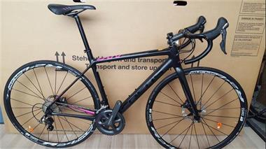 Grote foto focus bike cayo donna disc ultegra sport en fitness fietsen en wielrennen