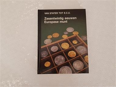 Grote foto boek geschiedenis euromunten postzegels en munten euromunten