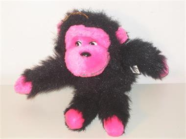 Grote foto aapje autospiegel hanger kinderen en baby knuffels en pluche