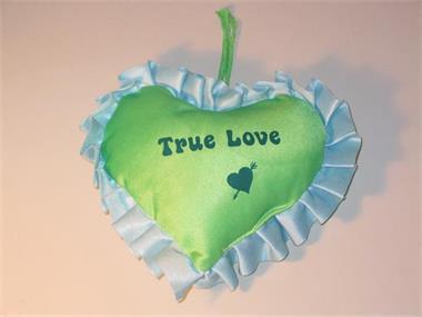 Grote foto true love hart kinderen en baby knuffels en pluche
