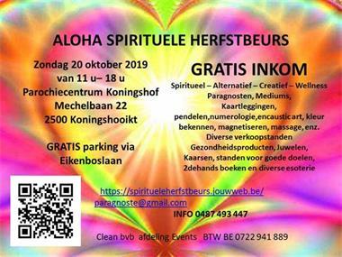 Grote foto aloha spirituele herfstbeurs paranormaal spirituele beurzen