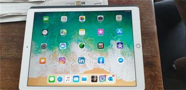 Grote foto apple ipad pro 12 9 inch 256 gb wifi 4g gold computers en software tablets apple ipad