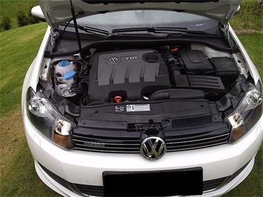 Grote foto volkswagen golf 1.6tdi comfortline diesel 2010 auto volkswagen