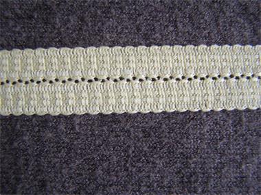 Grote foto zweigart mat beige 15mm boord hobby en vrije tijd naaien en fournituren