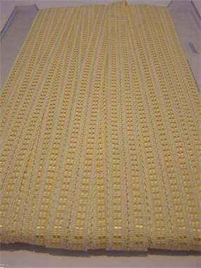 Grote foto zweigart beige glans 15mm boord hobby en vrije tijd naaien en fournituren