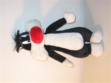 Grote foto sylvester looney tunes play by play 2000 kinderen en baby knuffels en pluche