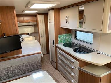 Grote foto caravan hobby 540 kmfe premium verkocht caravans en kamperen caravans