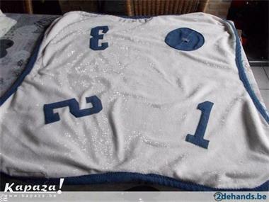 Grote foto zachte lodger 123 om je kind in te wikkelen kinderen en baby dekens en slaapzakjes