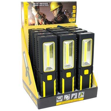 Grote foto led werkzaklamp display excl. batterijen caravans en kamperen overige caravans en kamperen