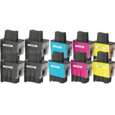 Grote foto inktcartridges brother lc 900 voordeelpakket 10 stuks huism computers en software printers