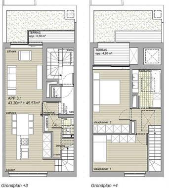 Grote foto merksem nieuwbouwproject app. 3.1 duplex huizen en kamers appartementen en flats