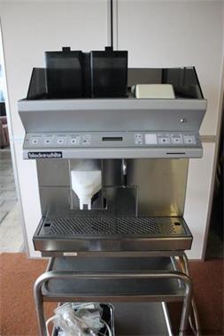 Grote foto black white espressomachine in veiling bij proveiling witgoed en apparatuur koffiemachines en espresso apparaten