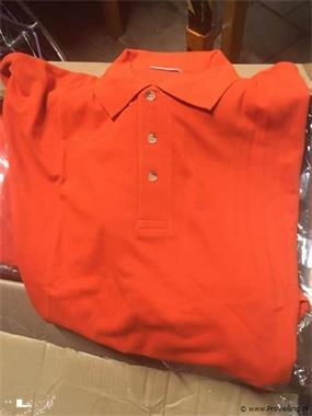 Grote foto partij polo oranje in veiling bij proveiling zakelijke goederen overige zakelijke goederen