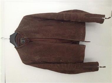 Grote foto vintage denim vest kleding dames lederen kleding