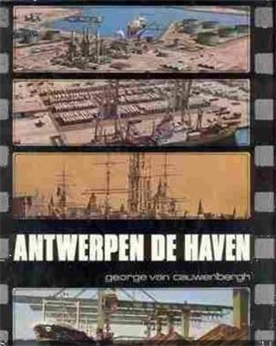 Grote foto antwerpen de haven georges van cauwenbergh boeken geschiedenis regio