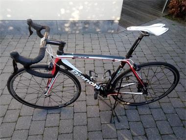Grote foto bianchi sempre carbon fietsen en brommers racefietsen