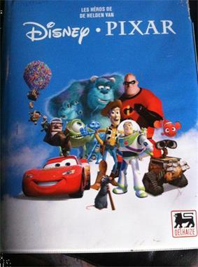Grote foto disney pixar speelkaarten compleet boek verzamelen speelkaarten jokers en kwartetten