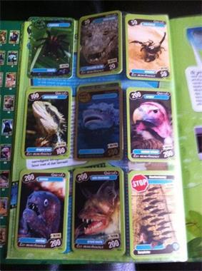 Grote foto de helden van onze planeet speelkaarten delhaze verzamelen speelkaarten jokers en kwartetten