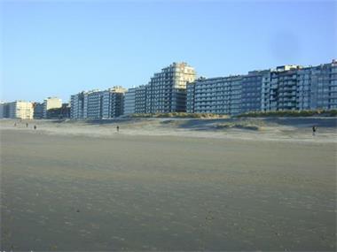 Grote foto grote studio zonnekant vlakbij zeedijk nieuwpoort vakantie belgi