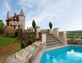 Grote foto uniek kasteel nabij spa voor 10 personen vakantie belgi