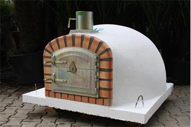 Pizza Oven Tuin : Pizza oven steenoven livorno110 met hoge deur kopen buitenkeukens