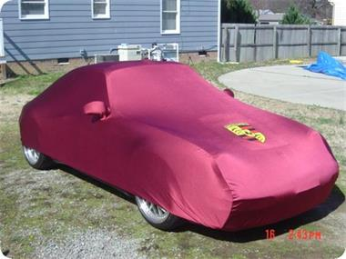 Grote foto car cover autohoes maathoes voor binnenstalling auto onderdelen oldtimer parts en accessory