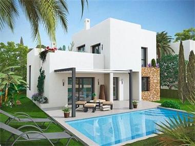 Moderne nieuwbouw villa s te koop costa blanca spaanse kust - Foto gevel moderne villa ...