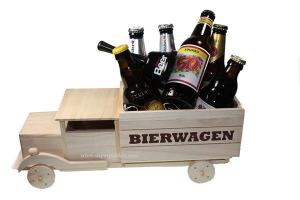 Grote foto abraham bier geschenk pakket met naam zakelijke goederen cadeautjes