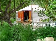 Grote foto luxe camperen in een yurt andalusie vakantie spaanse kust