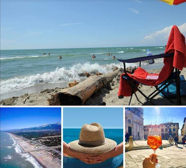 Grote foto itali stacaravan aan zee toscane camping vakantie italie