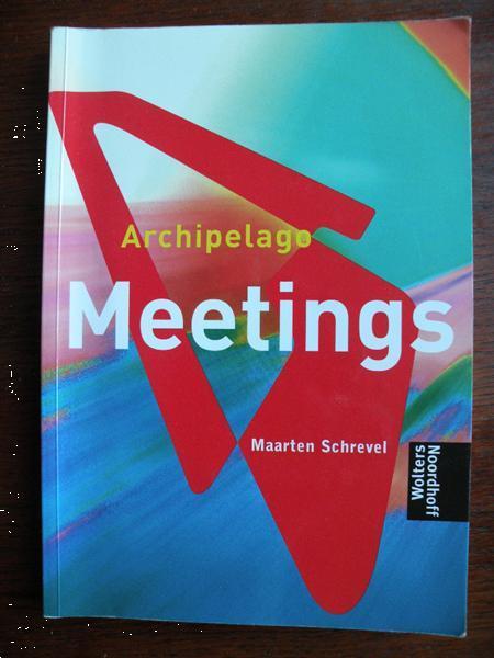 Grote foto maarten schrevel meetings. boeken studieboeken