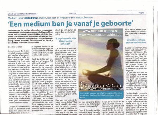 Grote foto medium catrina erkend helderziende waarzegster diensten en vakmensen coaching en persoonlijke effectiviteit