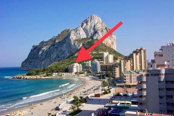 Grote foto prachtig appartement dijk calpe vakantie spaanse kust