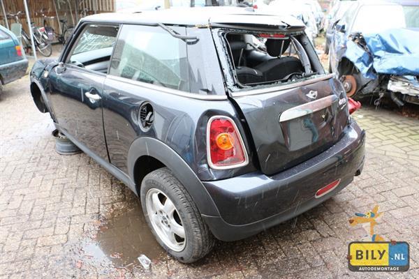 Grote foto bily mini r56 1.6 2007 met rolschade auto onderdelen motor en toebehoren