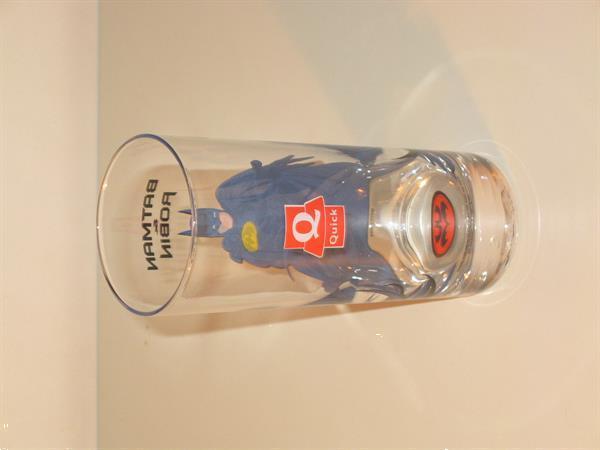 Grote foto glas batman batman robin quick verzamelen glas en borrelglaasjes