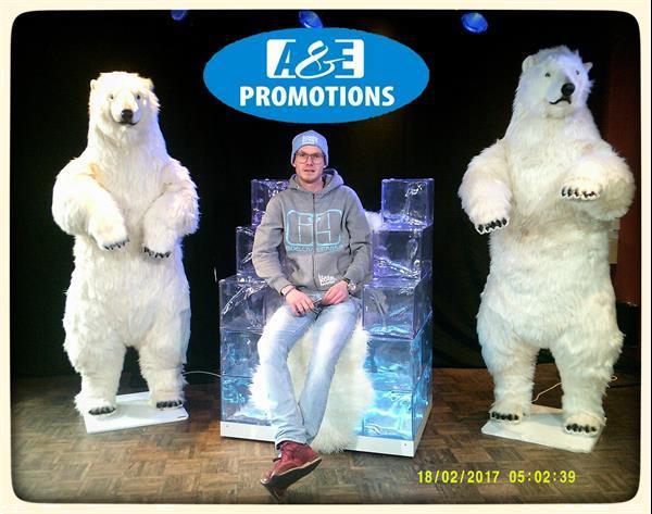 Grote foto verhuur sneeuwpanter bewegend vlaams brabant diensten en vakmensen bedrijfsuitjes