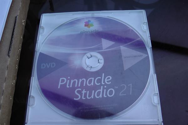 Grote foto pinnacle studio 21 computers en software overige