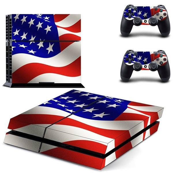 Grote foto 121 sticker skin wrap ps4 stickers playstation 4 2x contro spelcomputers games overige merken