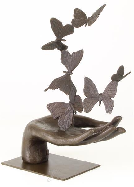 Grote foto bronzen beelden in diverse stijlen huis en inrichting kunst