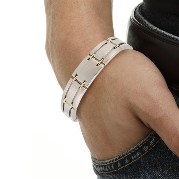 Grote foto magneet armband voor een gezonder leven paranormaal alternatieve geneeswijzen